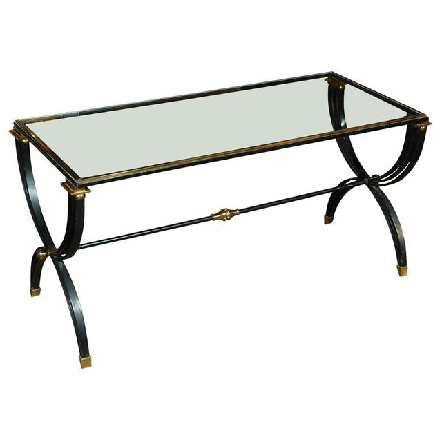 Raymond Subes Attributed French Cocktail Table For Sale - Image 9 of 9