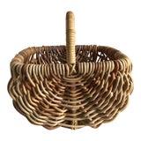 Image of Large Rustic Decor Storage Basket For Sale
