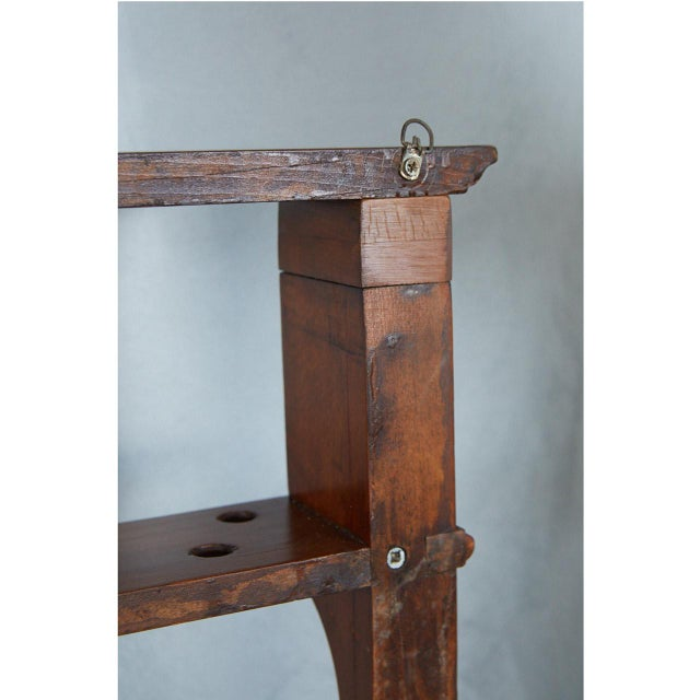 19th Century Pool Cue Rack For Sale - Image 5 of 9