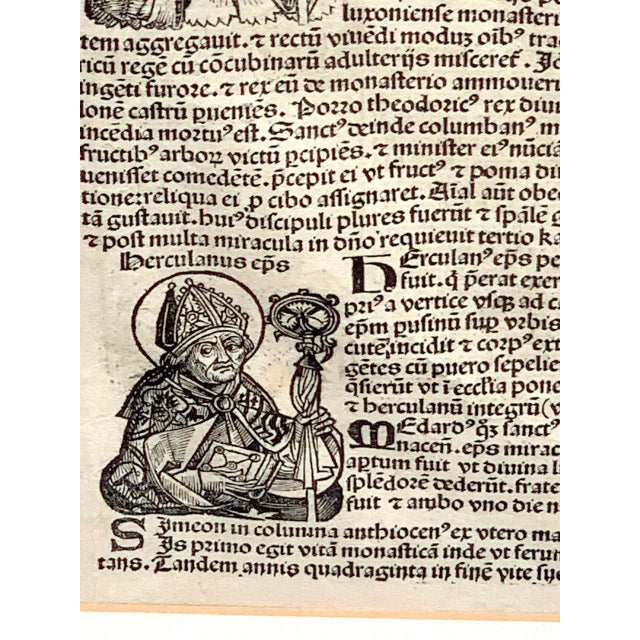 'World Chronicle', 1st Edition, by Schedel & Wolgemut, Nurnberg, 1493 For Sale - Image 9 of 13