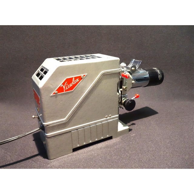 Art Deco View Lex Circa 1950 Film Projector in 100% Original State For Sale - Image 3 of 12