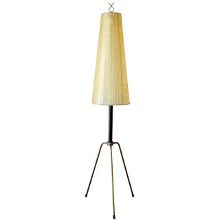 Early Italian Tripod Floor Lamp For Sale