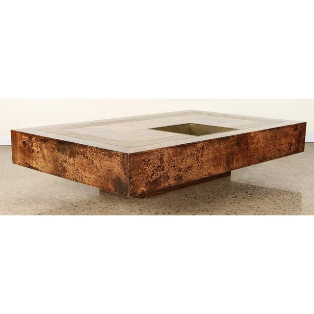 Aldo Tura Goat Skin Coffee Table For Sale In San Francisco - Image 6 of 6