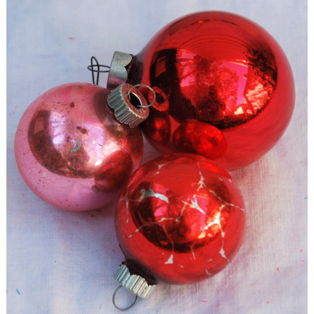 Vintage Christmas Ornaments - Set of 43 - Image 9 of 11