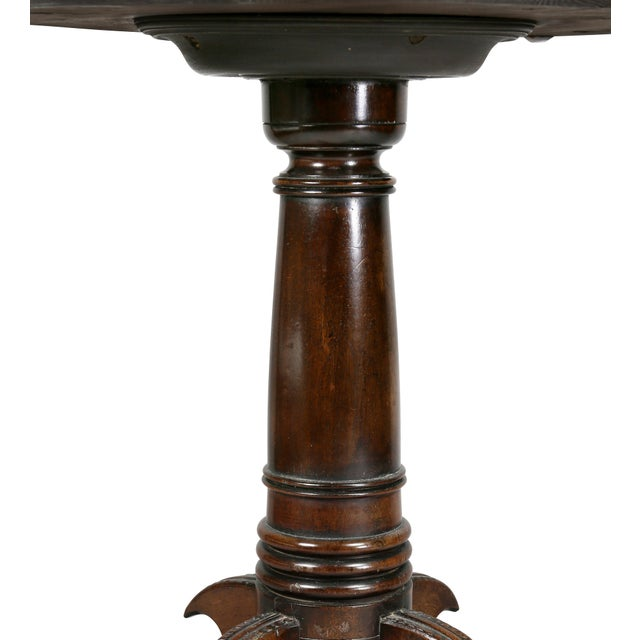 Regency Rosewood and Specimen Marble Top Table For Sale In Boston - Image 6 of 9