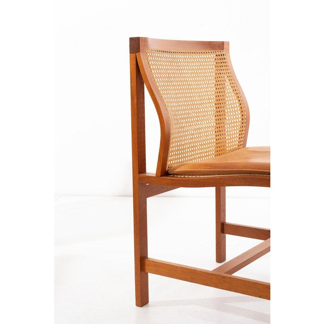 Rud Thygesen & Johnny Sorensen Set of 8 Dining Chairs For Sale In New York - Image 6 of 13