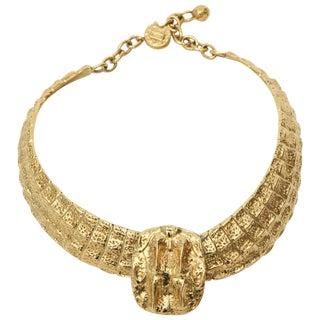 Yves Saint Laurent Collar Necklace For Sale