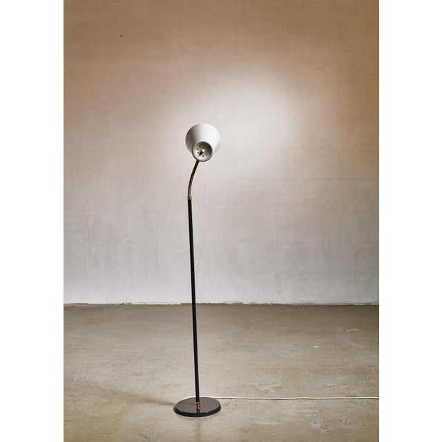 Yki Nummi Floor Lamp for Orno, Finland For Sale - Image 6 of 8
