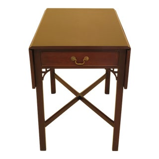 Kittinger Pembroke Chippendale Mahogany Table For Sale