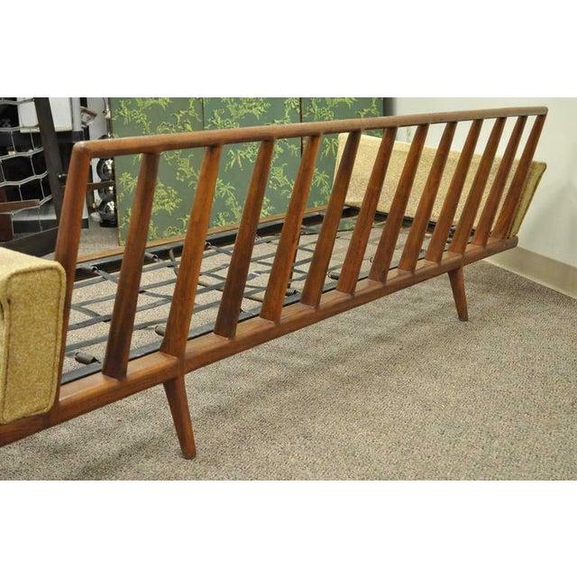 Mel Smilow Smilow Thielle Mid Century Danish Modern Teak Wood Frame Sofa  Couch