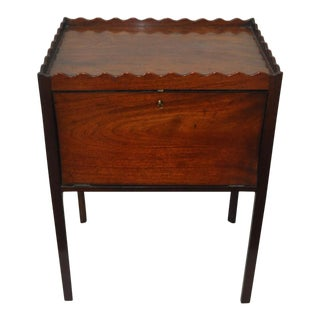 19th Century Drop Front Rosewood Cabinet / Side Table For Sale