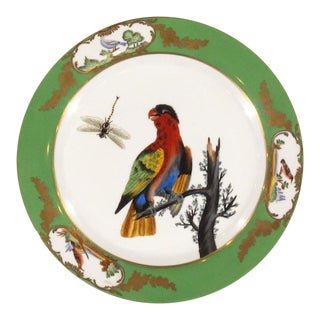 Late 20th Century Vintage Bird Plates For Sale