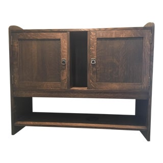Stickley Wall Mounted Cabinet For Sale