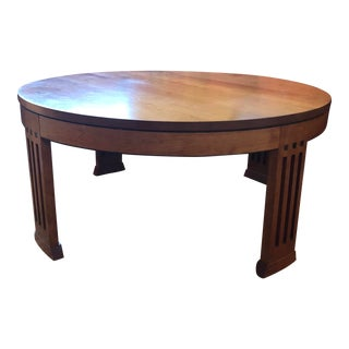Arts & Crafts Stickley Audi Coffee Table For Sale