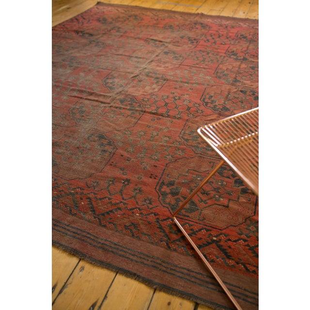 """Textile Vintage Ersari Carpet - 8'2"""" X 9'8"""" For Sale - Image 7 of 10"""