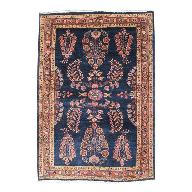 Elegant Sarouk Carpet For Sale