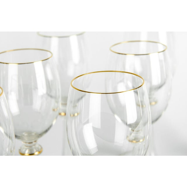 Early 20th Century Vintage Baccarat Crystal Glassware - Set of 14 For Sale - Image 5 of 7