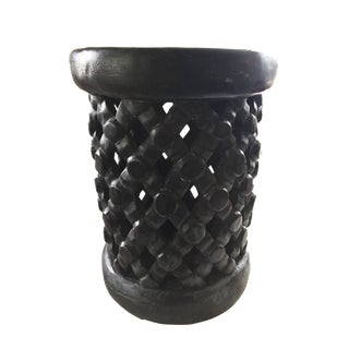 """African Bamileke Spider Stool/Table 15"""" H For Sale"""