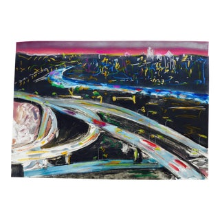 La Freeways at Night For Sale