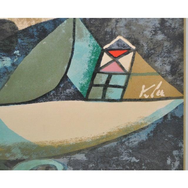 Paul Klee Vintage 1950s Silkscreen For Sale - Image 4 of 9
