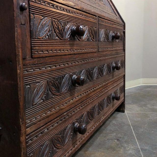 18th Century English Renaissance Secretary Bookcase For Sale - Image 11 of 13