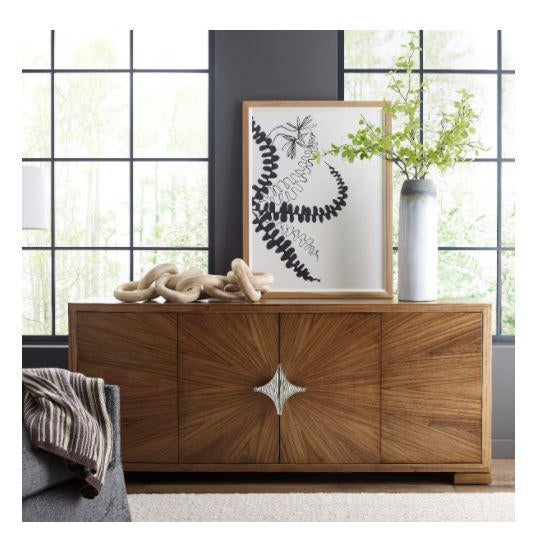 Manobo Media Cabinet A wonderful cabinet for a variety of storage and serving needs, with four doors veneered in paldao in...