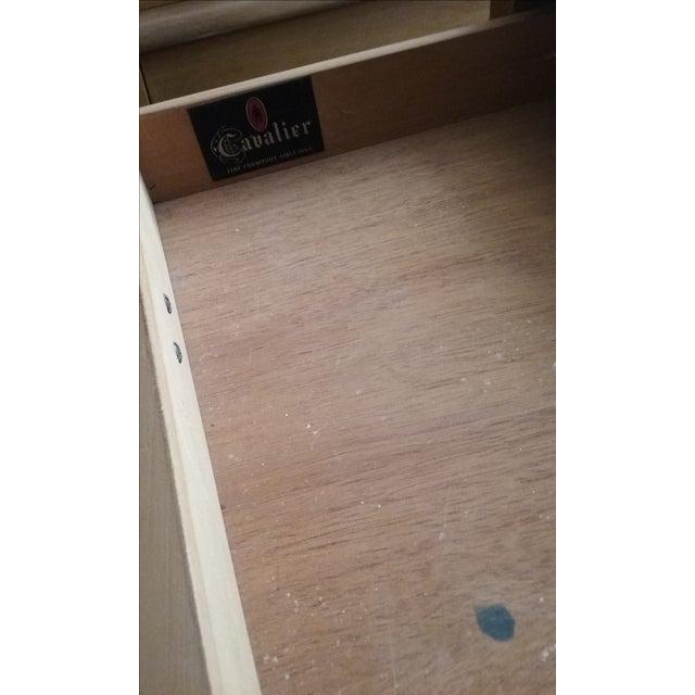 Cavalier Mid-Century Modern Dresser W/ Mirror - Image 3 of 10