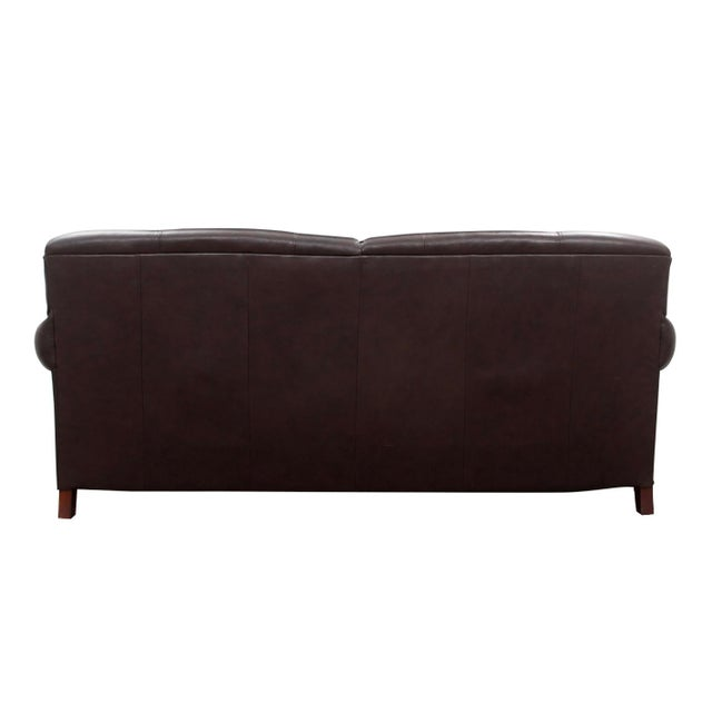 Fabulous Modern Broyhill Contemporary Leather Sofa Onthecornerstone Fun Painted Chair Ideas Images Onthecornerstoneorg
