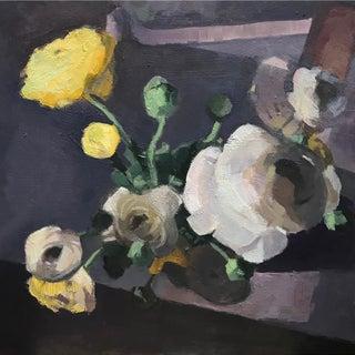 Ranunculus - Original Oil Painting 16x16
