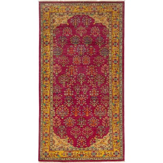 "Ziegler Hand Knotted Area Rug - 5'3"" X 9'8"" For Sale"