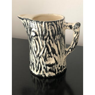 Faux Bois Pitcher, 1940's French Preview