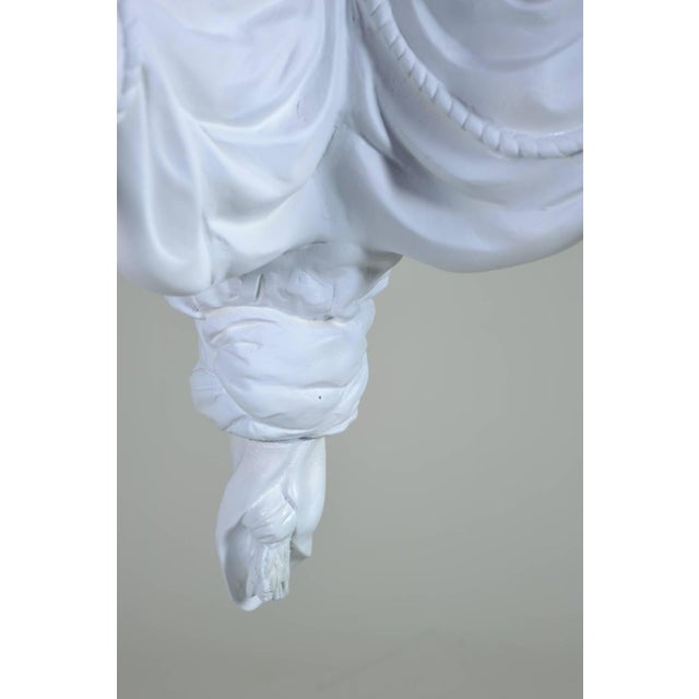 Sirmos Chandelier with Draped Fabric Design, circa 1970s - Image 3 of 6