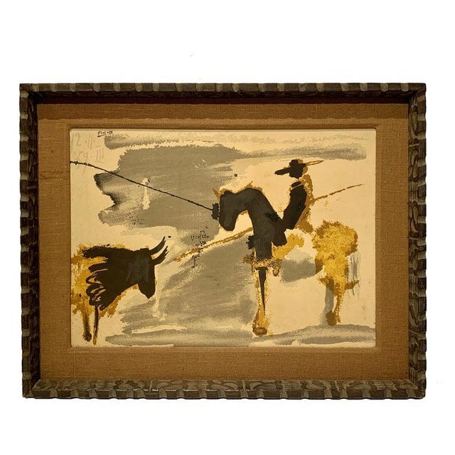 Before the Thrust, Silkscrren Litho, After Picasso For Sale - Image 9 of 9