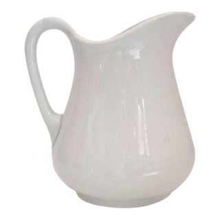 19th Century Unusual English Water Pitcher For Sale