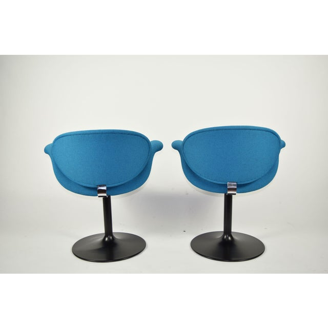 Pair of Little Tulip Chairs by Pierre Paulin for Artifort - Image 5 of 10