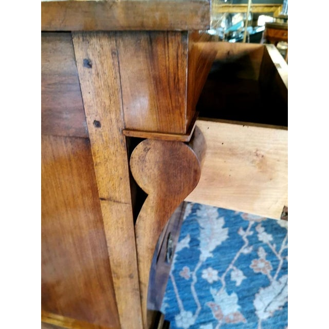 Brown French Walnut Chest of Drawers For Sale - Image 8 of 13