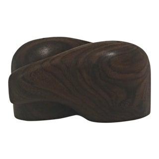 Don S. Shoemaker Interlocking Rosewood Salt and Pepper Shaker, 1960, Señal For Sale