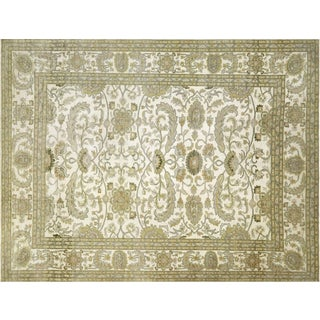 "Nalbandian - 1980s Egyptian Sultanabad Carpet - 10'1"" X 13'2"" For Sale"