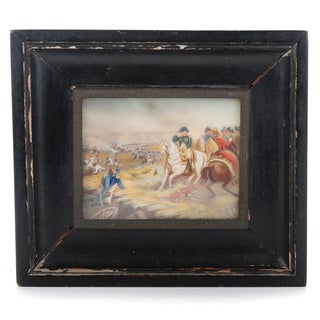 Napoleon 19th Century Miniature Painting For Sale