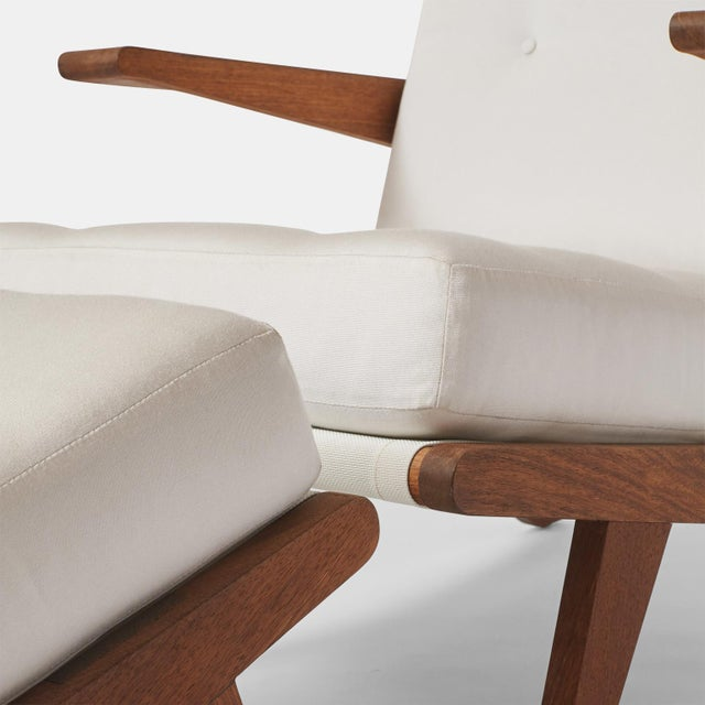 Fabric AN OPEN ARMCHAIR EXCLUSIVELY FOR ALMOND & CO. For Sale - Image 7 of 11