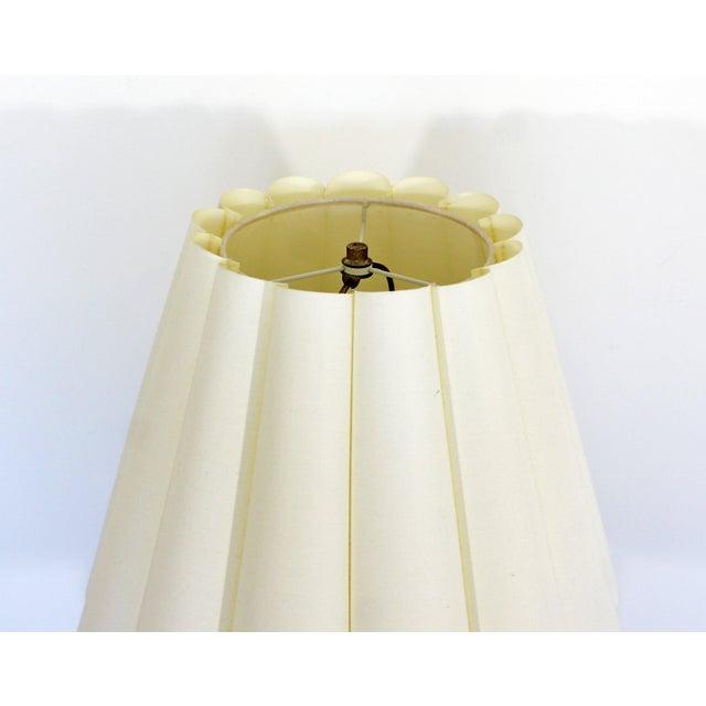 Metal Mid Century Modern Robert Sonneman Polished Chrome Steel Standing Floor Lamp For Sale - Image 7 of 10