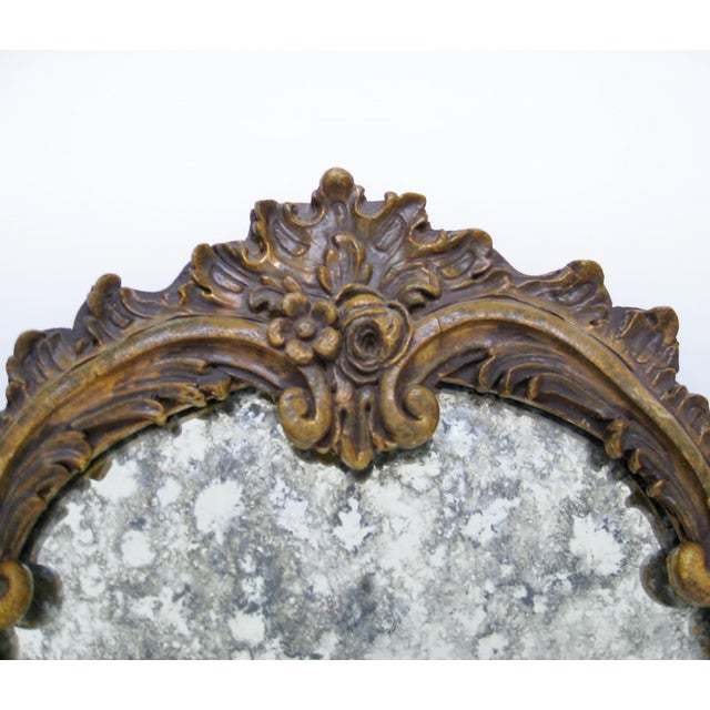 Baroque-Style Wood Mirrors - A Pair - Image 4 of 11