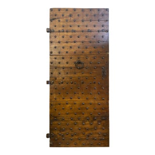 Early 19th Century Antique Italian Door, Circa 17th Century For Sale