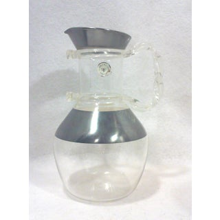 Dorothy Thorpe Lucite Handled Carafe Pitcher and Martini Glasses-Set of Five Preview