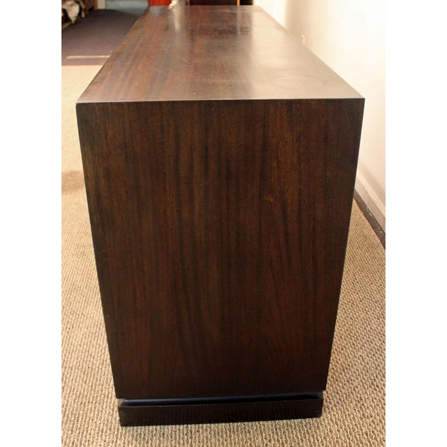 Oak James Mont Mid-Century Asian Modern Ming-Style Mahogany Credenza For Sale - Image 7 of 11