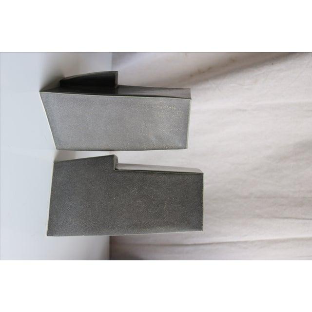 Architectural Ceramic Vases - A Pair - Image 8 of 10