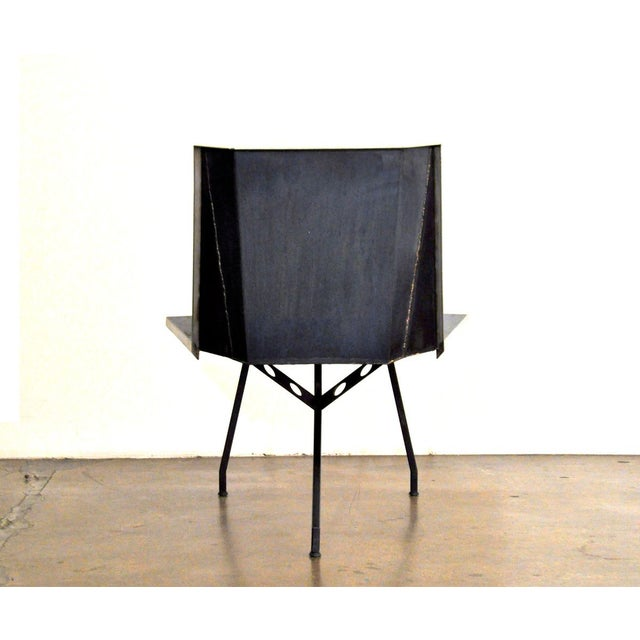 Aeronautical Inspired Lounge Chair - Image 4 of 6