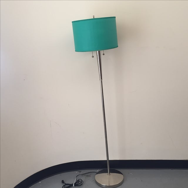 Mid-Century Chrome Floor Lamp - Image 2 of 5