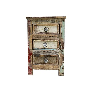 Antique French Rustic Chest of Drawers For Sale