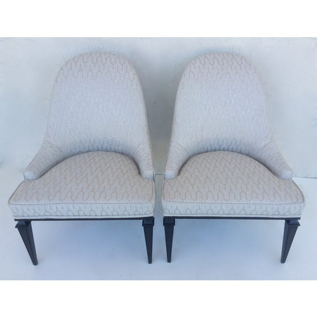 Belgian Lounge Chairs by Michael Taylor for Baker - A Pair For Sale - Image 3 of 11